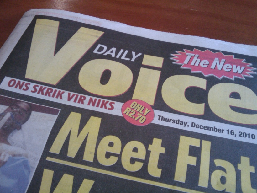 The Voice Newspaper